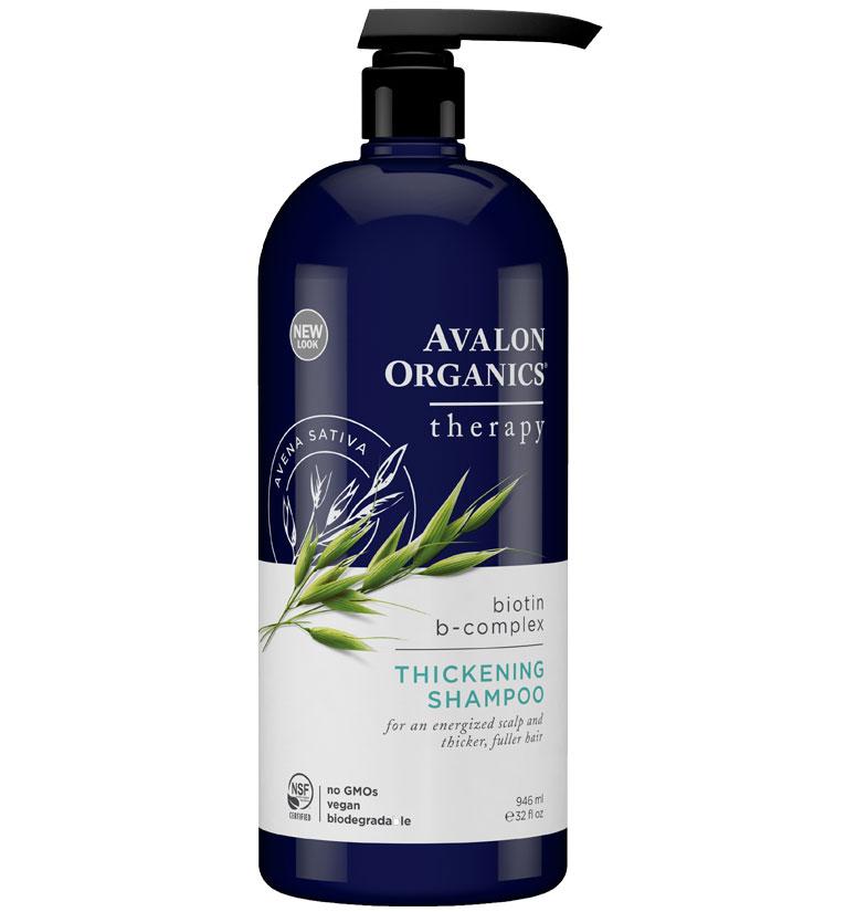 Avalon Organics Ao Therapy Thickening Biotin B-Complex  Shampoo 32oz