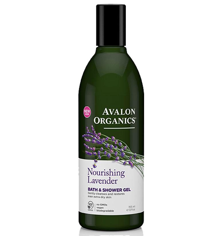 Avalon Organics Nourishing Lavender Bath & Shower Gel 12oz