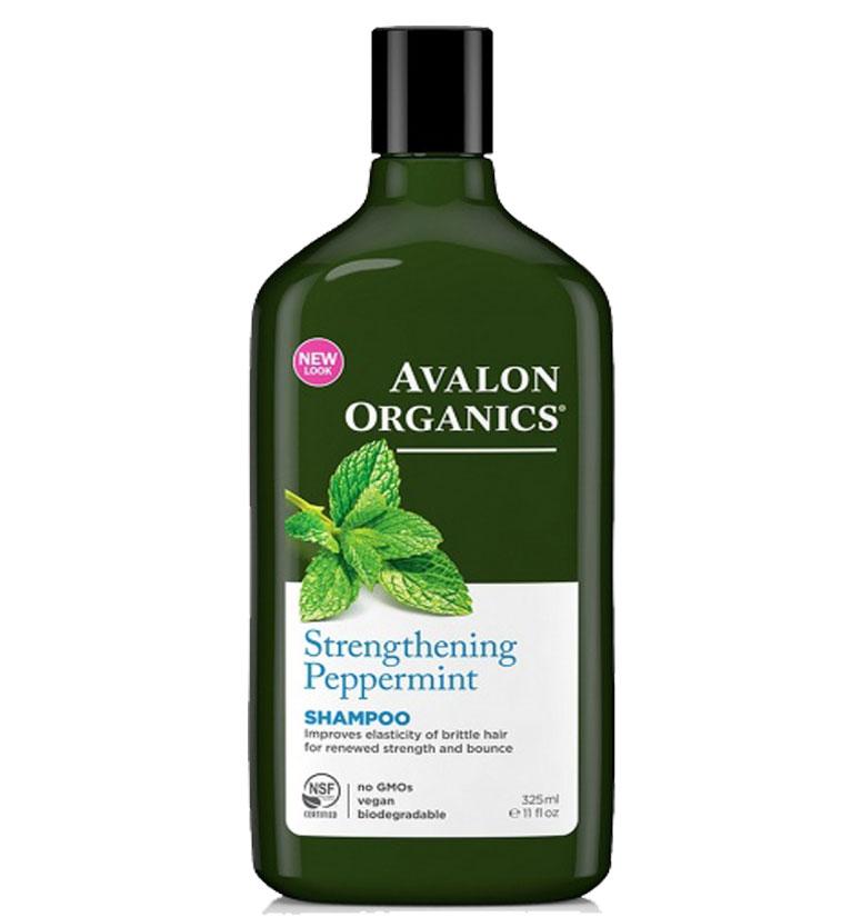 Avalon Organics Strengthening Peppermint Shampoo 11oz