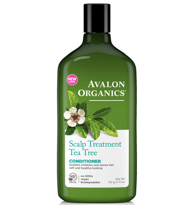Avalon Organics Scalp Treatment Tea Tree Conditioner 11oz