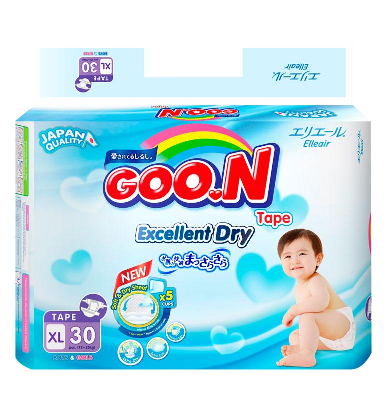 GOO.N Premium Slim Tape XL30