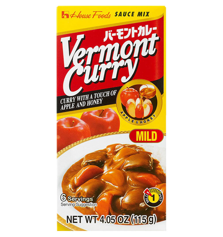 House Foods Vermont Curry Mild 115g