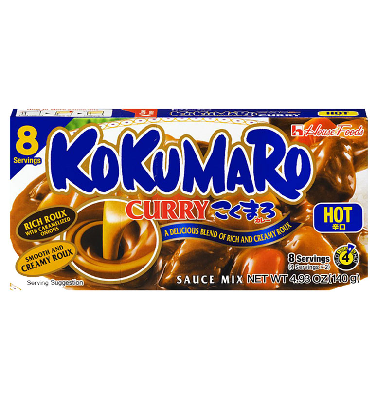 House Foods Kokumaro Curry Hot 140g