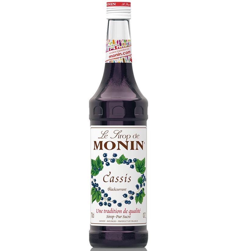 Monin Syrup Blackcurrant 70cl