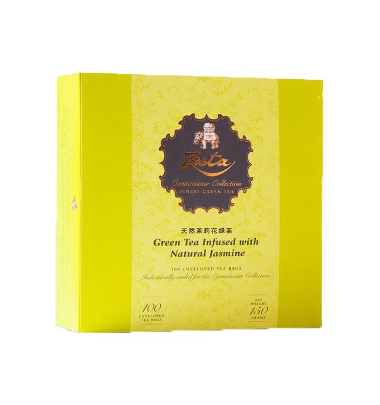 Zesta Mini Tin Caddies  Jasmine Green Tea