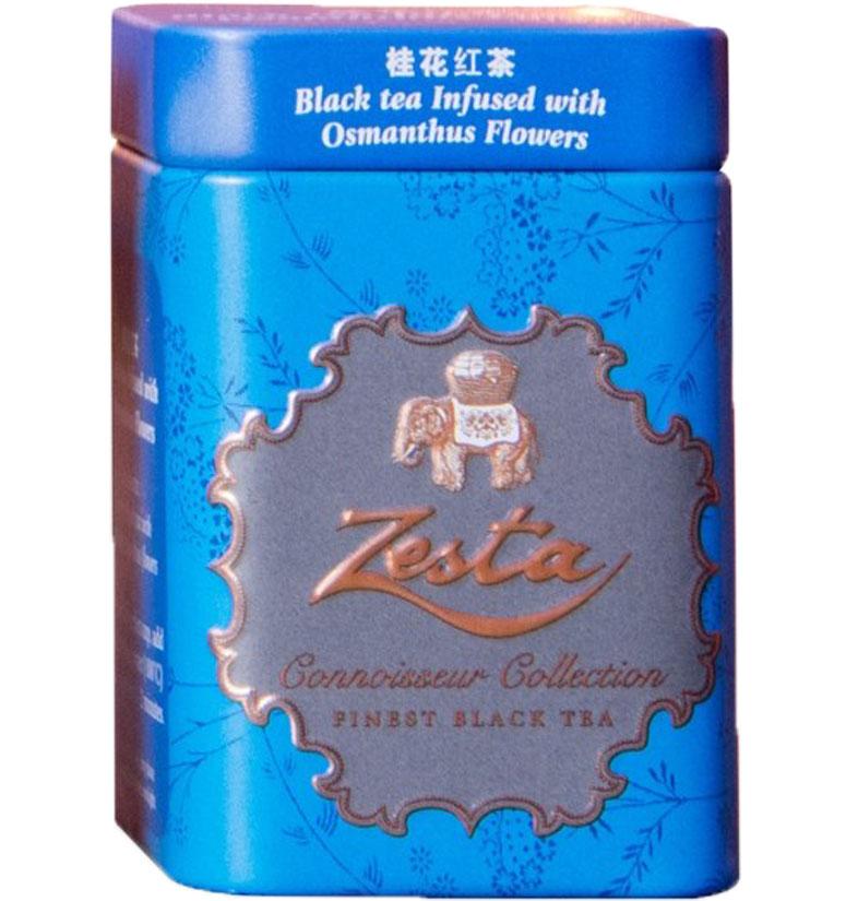 Zesta Mini Tin Caddies  Osmanthus Black Tea